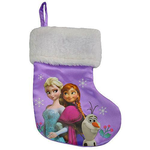 7 Inch Disney Frozen Elsa Stocking - Christmas - Holiday Gifts - Santa Shop Gifts