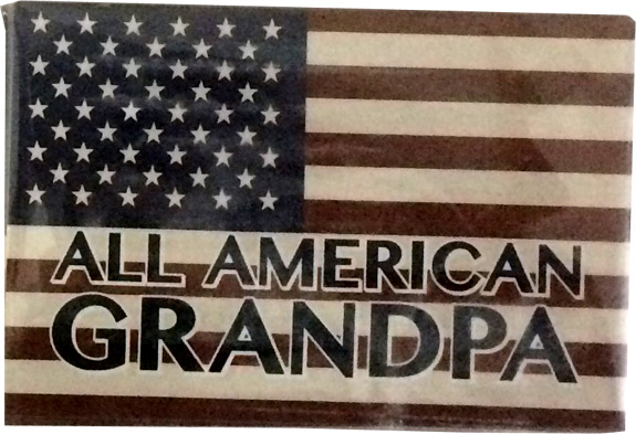 All American Grandpa Magnet - Grandpa Gifts - Santa Shop Gifts