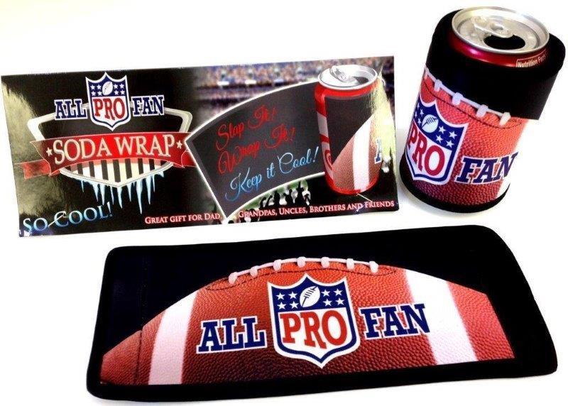 All Pro Fan Soda Wrap - Gifts For Men - Santa Shop Gifts