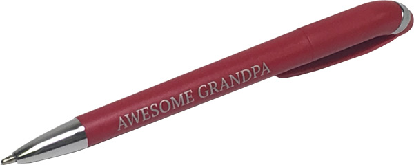 Awesome Grandpa Pen - Grandpa Gifts - Santa Shop Gifts