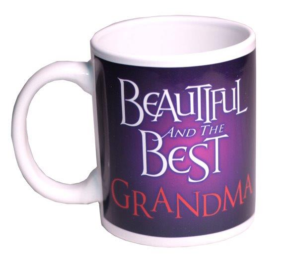 Beautiful and Best Grandma Mug - Grandma Gifts - Santa Shop Gifts
