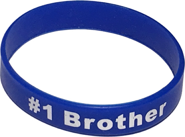 Best Brother Band Bracelet - Brother Gifts - Santa Shop Gifts