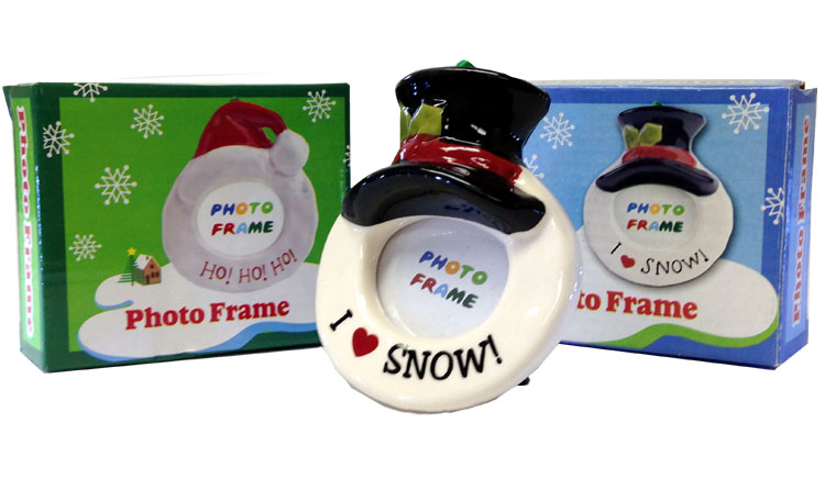Holiday Photo Frame - Christmas - Holiday Gifts - Santa Shop Gifts