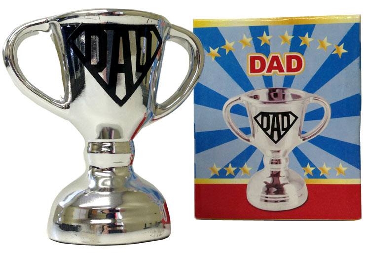 Dad Chrome Silver Cup - Dad Gifts - Santa Shop Gifts