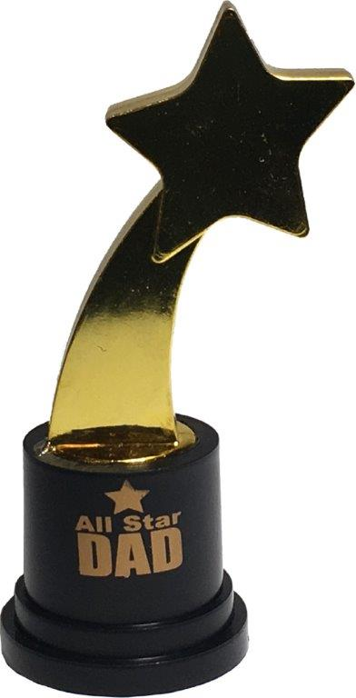 All Star Dad Gold Trophy - Dad Gifts - Santa Shop Gifts