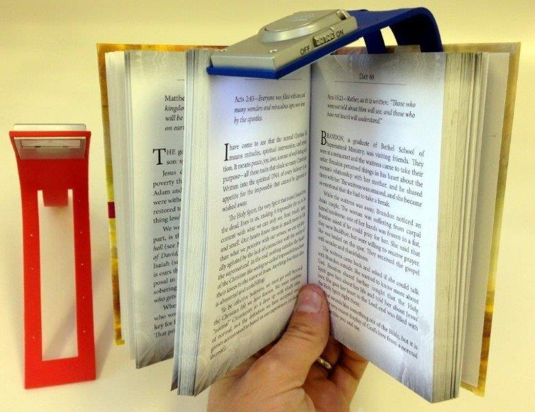 8 In. Flexible Silicone Book Light - Gifts For Women - Santa Shop Gifts