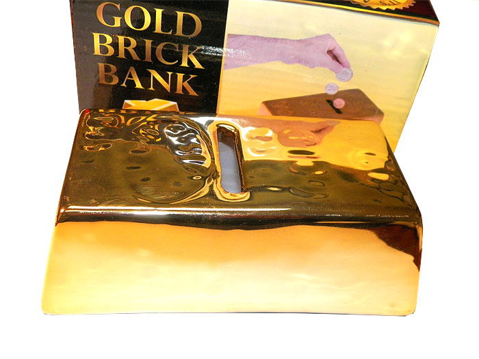 Gold Brick Bank - Gifts For Boys & Girls - Santa Shop Gifts