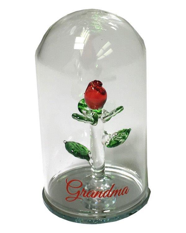 Grandma Rose Dome - Grandma Gifts - Santa Shop Gifts