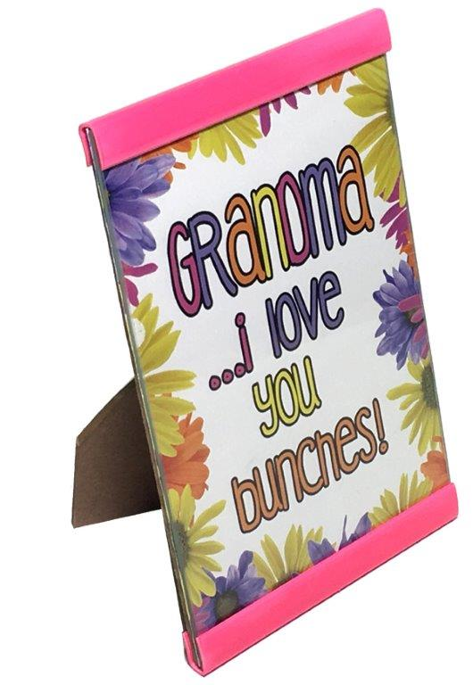Grandma I Love You Plaque - Grandma Gifts - Santa Shop Gifts