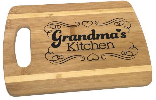 Grandma's Kitchen Cutting Board - Grandma Gifts - Santa Shop Gifts