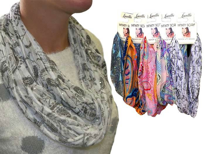 Infinity Fashion Scarf - Gifts For Women - Santa Shop Gifts