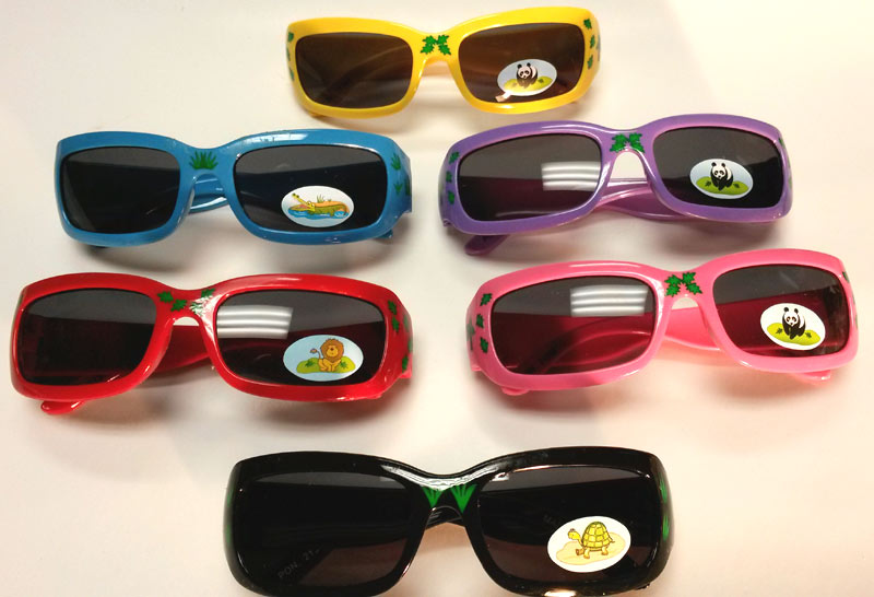Kids Zoo Theme Sunglasses - Gifts For Boys & Girls - Santa Shop Gifts