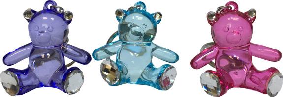 Crystal Like Bear Keychain - Gifts For Boys & Girls - Santa Shop Gifts