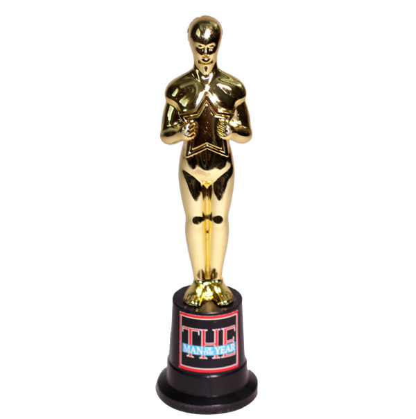 Man of The Year Trophy - Dad Gifts - Santa Shop Gifts