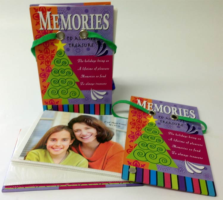 Memories Photo Book - Christmas - Holiday Gifts - Santa Shop Gifts