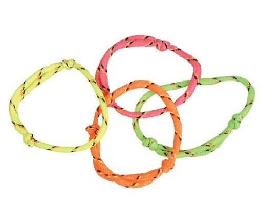 Nylon Friendship Rope Bracelets - Gifts For Boys & Girls - Santa Shop Gifts