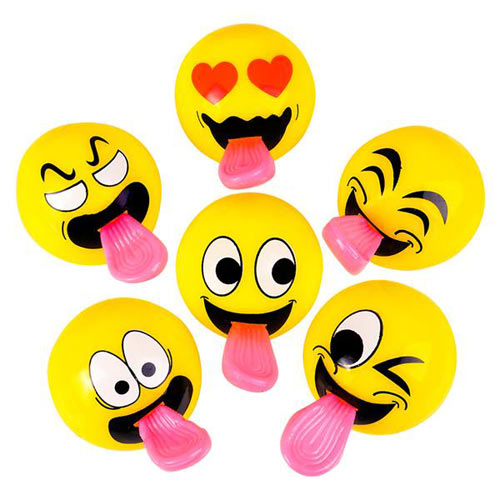 Stretch Tongue Emoticon Slingshot Ball - Gifts For Boys & Girls - Santa Shop Gifts