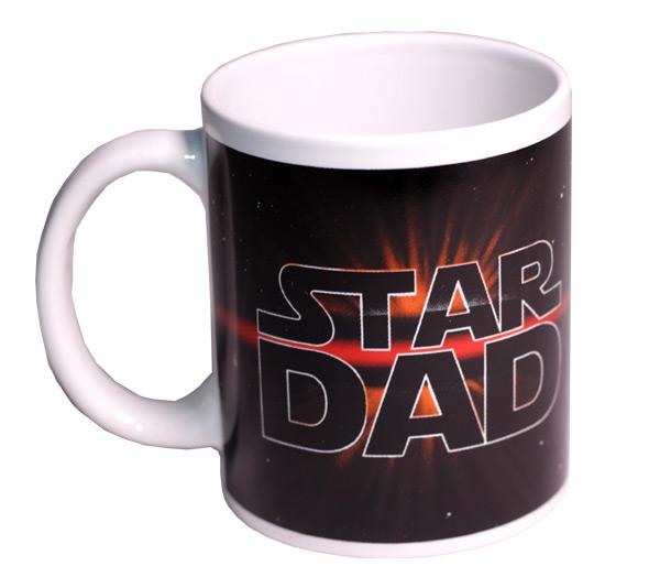 Star Dad Mug - Dad Gifts - Santa Shop Gifts
