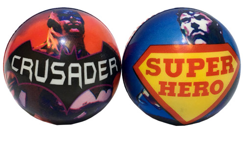 Super Hero Soft Play Ball - Gifts For Boys & Girls - Santa Shop Gifts