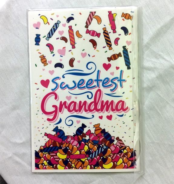 Sweetest Grandma Magnet - Grandma Gifts - Santa Shop Gifts