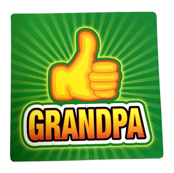 Grandpa Thumbs Up Magnet - Grandpa Gifts - Santa Shop Gifts