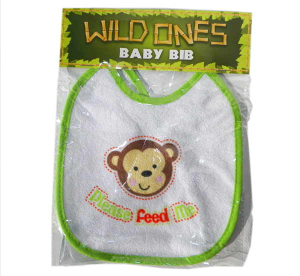 Wild Ones Baby Bib - Baby Gifts - Santa Shop Gifts