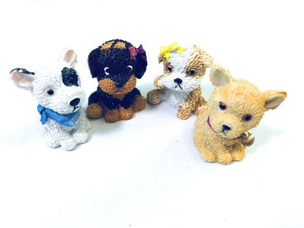 Puppy Figurines - Gifts For Women - Santa Shop Gifts