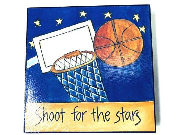 Inspirational Basketball Plaque - Gifts For Men - Santa Shop Gifts