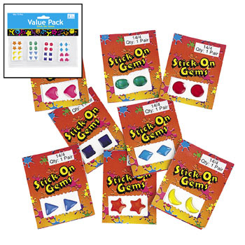 Stick on Gems - Gifts For Boys & Girls - Santa Shop Gifts