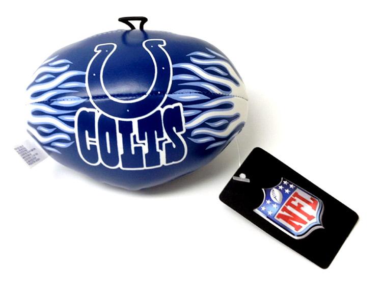 4.5 Inch NFL Indianapolis Colts Vinyl Football - Sports Team Logo Gifts - Santa Shop Gifts