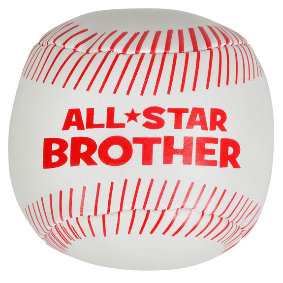 All Star Brother Soft Baseball - Brother Gifts - Santa Shop Gifts