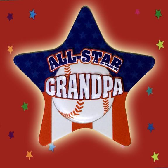 All-Star Grandpa Magnet