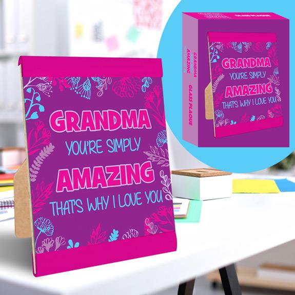 Amazing Grandma Plaque