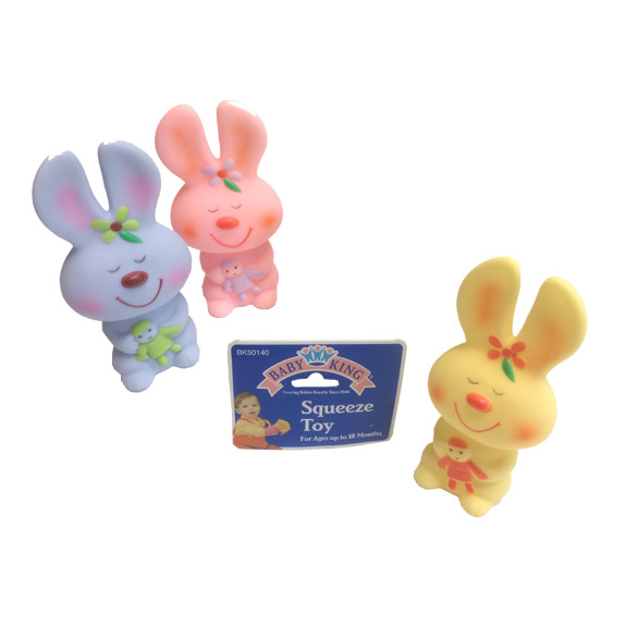 Bunny Squeeze Baby Toy - Baby Gifts - Santa Shop Gifts