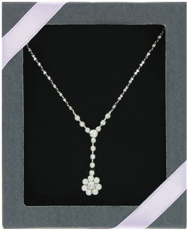 Bling Drop Necklace - Jewelry Gifts - Santa Shop Gifts