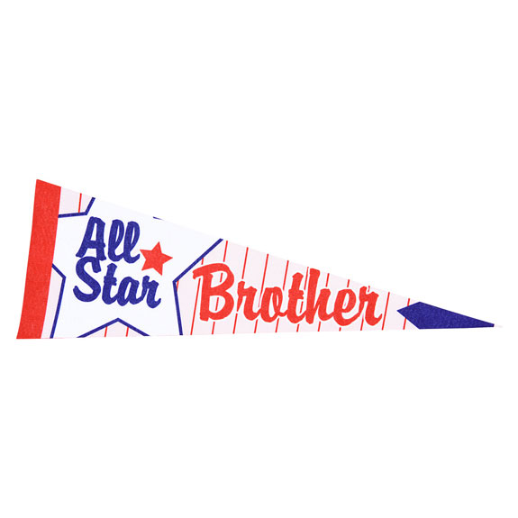 BROTHER PENNANT - Brother Gifts - Santa Shop Gifts