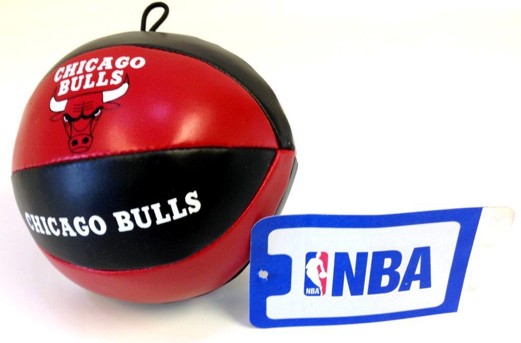 NBA Vinyl Basketball - Bulls - Sports Team Logo Gifts - Santa Shop Gifts