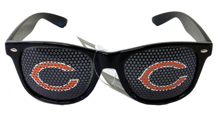 Chicago Bears NFL Game Day Shades - Sports Team Logo Gifts - Santa Shop Gifts