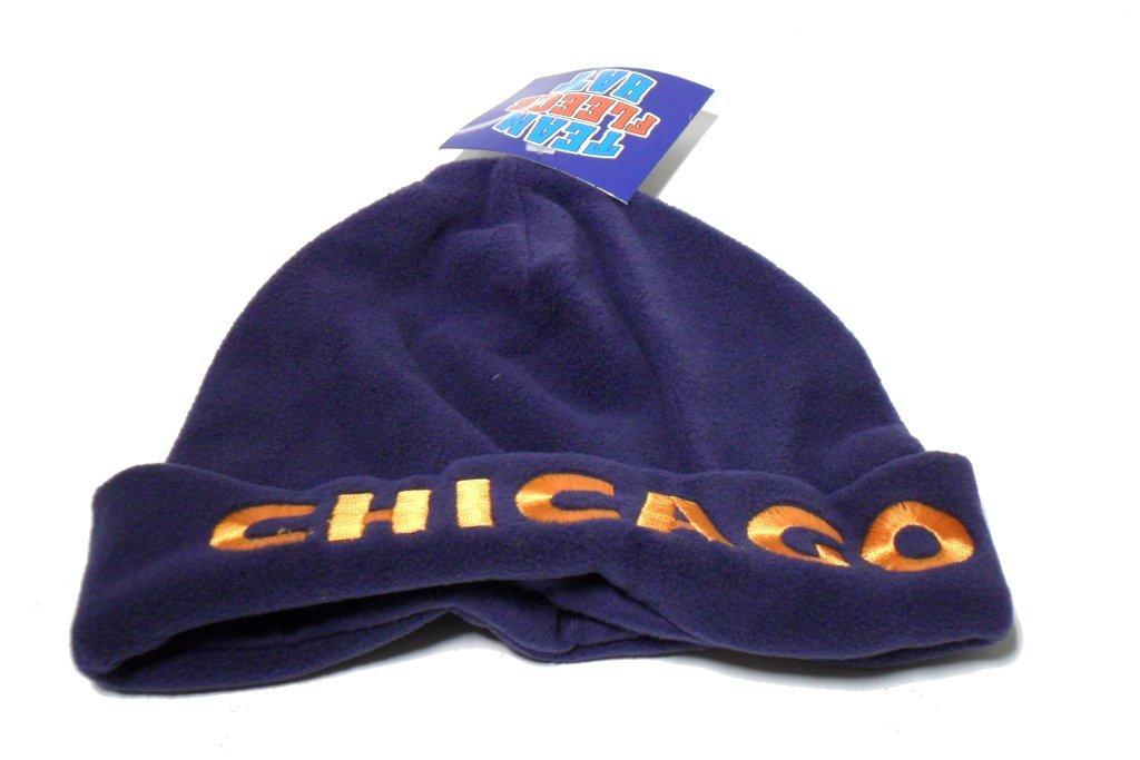 Chicago Team Fleece Hat - Sports Team Logo Gifts - Santa Shop Gifts