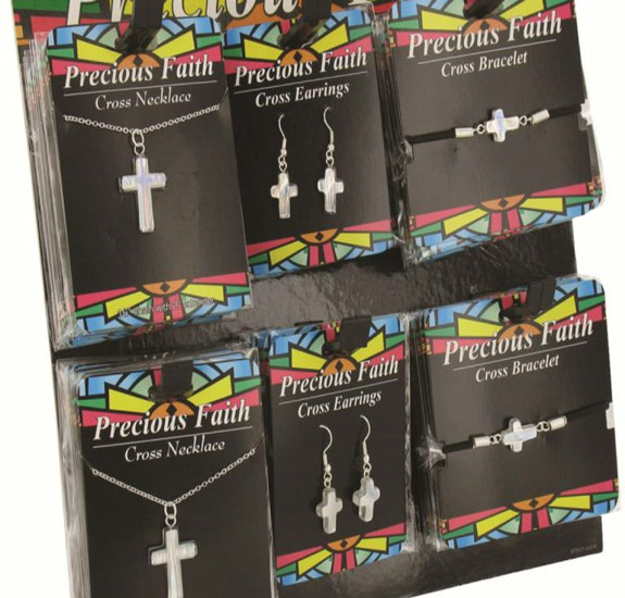 Cross Jewelry Assortment - Christian Gifts - Santa Shop Gifts