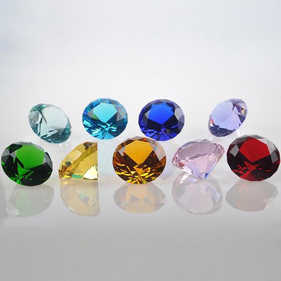2'' Crystal Diamond