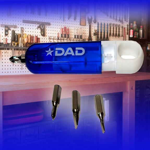 Dad Screwdriver Set Blue