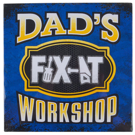 Dad Fix It Sign - Dad Gifts - Santa Shop Gifts