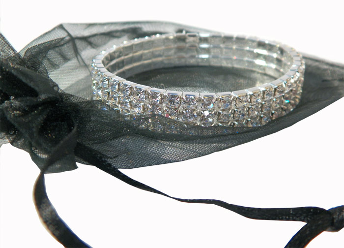Diamond Stretch Bracelet - Jewelry Gifts - Santa Shop Gifts