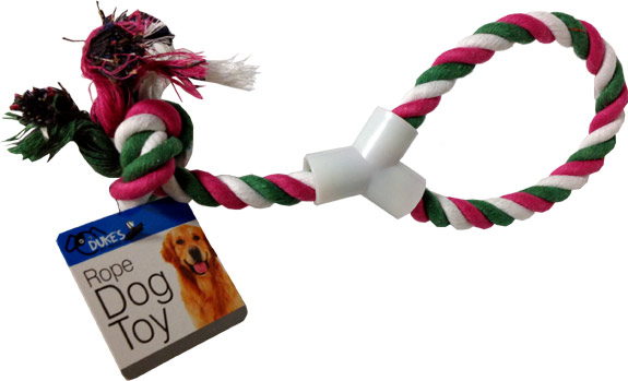 Dog Rope Pull Toy - Pets Gifts - Santa Shop Gifts