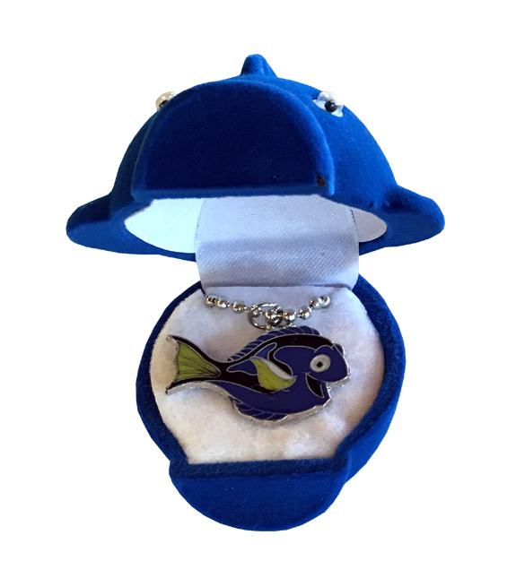 Dory Sea Life Necklace - Matching Box - Jewelry Gifts - Santa Shop Gifts