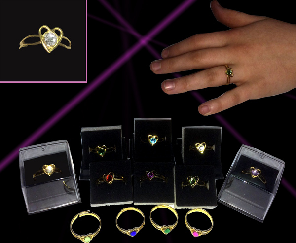 Heart Tiffany Ring Jewelry