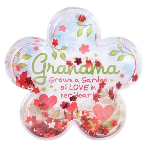 Grandma Water Globe Frame - Grandma Gifts - Santa Shop Gifts