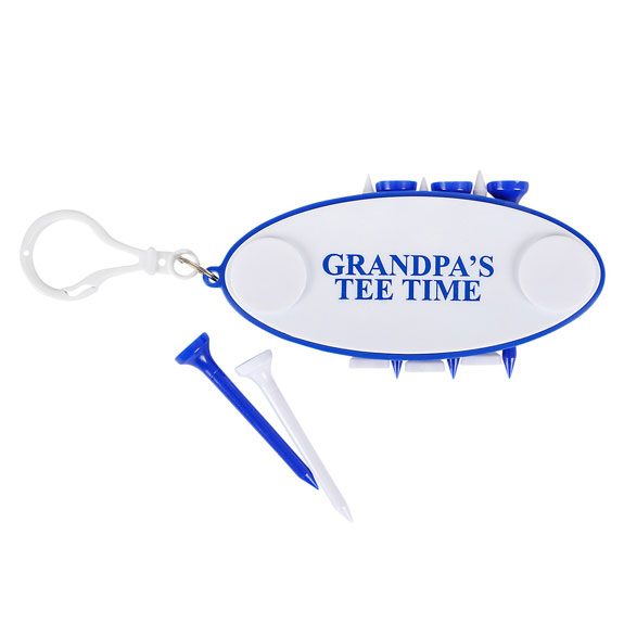 Grandpa Golf Tee Holder - Grandpa Gifts - Santa Shop Gifts