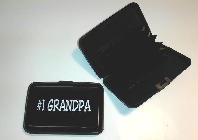 #1 Grandpa Scan Safe Wallet - Grandpa Gifts - Santa Shop Gifts
